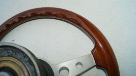 1977 Mercedes W123 R107 W107 Grant Wood Steering + Hub image 11
