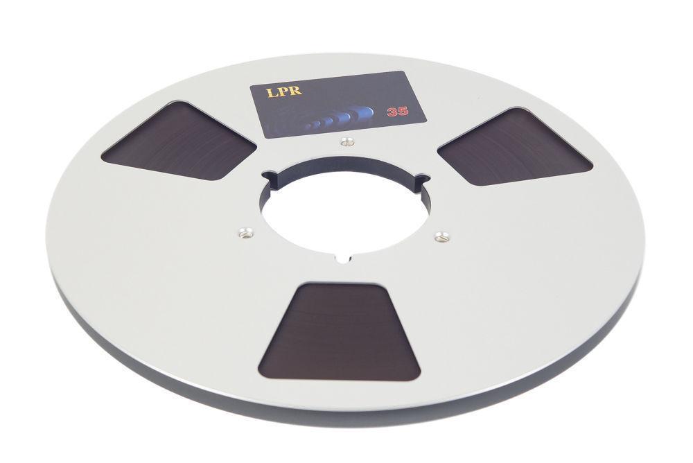 "RTM BASF Long Play Reel to Reel Tape LPR35 1/4"" 3600' 1100m 10.5"" Authorised Dlr"
