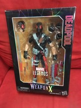 MARVEL LEGENDS SERIES AGENT OF WEAPON X 12-INCH DEADPOOL ACTION FIGURE - $83.30