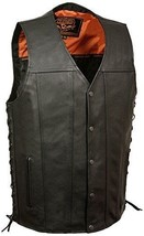 Milwaukee Men's Straight Bottom Side Lace Vest - $89.99+