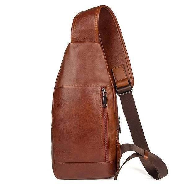 Sale, Messenger Bag, Men's Leather Messenger Bag, Men's Cross Leather Bag, Verti image 2