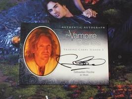 Vampire Diaries Season 3 A16 Sebastian Roche Mikael Cryptozoic Autograph... - $12.47