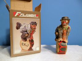 Vintage EKJ EMMETT KELLY JR Ornament HOLIDAY Hobo Clown DRUM ROLL Christ... - $7.00