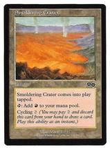 MTG Magic The Gathering Smoldering Crater Land Urza's Saga NM 1998 - $3.95