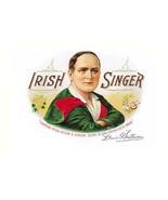 Irish Singer Cigars - Art Print - $19.99+