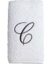 Avanti Embroidered Monogram White  Towel Set - $15.29
