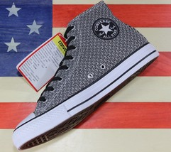 CONVERSE SAMPLE Chuck Taylor ALL-STAR HIGH Wolf Grey Red Shoes [157479C]... - $59.55
