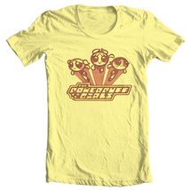 Powerpuff girls retro cartoon network cotton tee for sale graphic tshirt thumb200