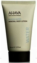 Dead Sea Water Mineral Body Lotion, AHAVA, 1.3 oz - $8.86