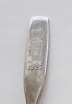 Collector Souvenir Spoon Noel 1987 Christmas Doorway  - $2.99