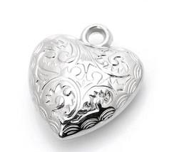 Lot 5 pcs Pendant Dangle Charm HEART Jewelry finding DIY C59 - $3.99