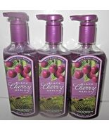 3 bottles Bath & Body Works Deep Cleansing Hand Soap Black Cherry Merlot - $24.99