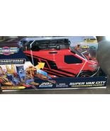 Micro Machines Super Van City Transforming Playset w/ 3 Exclusive Cars *... - $58.19