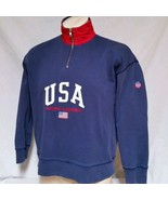 VTG Ralph Lauren Polo Sport USA Fleece Sweatshirt 90s Bear Stadium K Swi... - $89.99