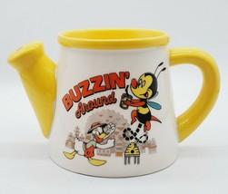 2020 Disney Parks Epcot Flower & Garden Donald Duck & Spike The Bee Mug Cup - $5.45