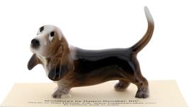 Hagen-Renaker Miniature Ceramic Dog Figurine Basset Hound Papa