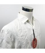 NWT Tommy Bahama Mens Medium 100% Linen Hawaiian Shirt Union Pipe Fitter... - $49.95