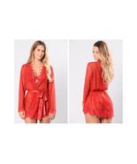 Fashion Nova New Lover Robe Red Size 1X/2X NWT - $17.81