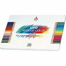 *Mitsubishi Pencil erasable colored pencil Uni Ah Therese color 36 color... - $50.22