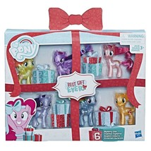 My Little Pony Best Gift Ever Holiday Set (6 Ponies w Mystery Gifts) NIB... - $34.99
