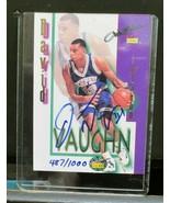1995 Signature Rookies Autobilia Autographs 1 of 13000 #25 David Vaughn ... - $1.98