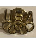 Vintage Olympic USA Pin  - $9.89