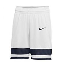 Nike Women's Team National Basketball Short White Navy Blue 932198-107 - $14.94