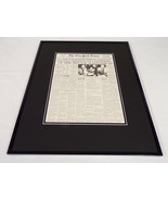 New York Times Dec 12 1941 Framed 16x20 Front Page Poster WWII US at War - $74.44