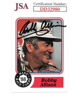 Bobby Allison signed NASCAR 1988 Maxx Charlotte Racing Trading Card #30-... - $37.95