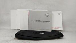 2014 Nissan Versa Owners Manual 100461 - $31.09