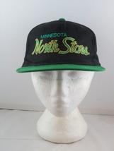 Minnesota North Stars Hat (VTG) - Twill Script by Sports Specialties - Snapback - $85.00