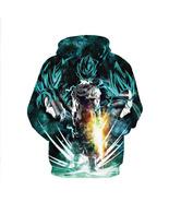 Anime 3D Hoodies Dragon Ball Z Super Saiyan  Sweatshirts Cool Hoodie Ou... - $52.99+