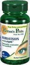 Puritan's Pride Herbavision Lutein & Bilberry 60 Softgels 1 Bottle - $9.74