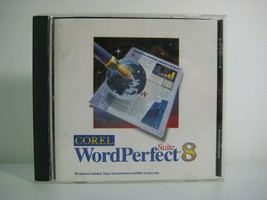WordPerfect 8 Suite Corel Word Processing Software CD - $8.75