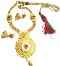 Indian-White-Pearl-Choker-Necklace-Earrings-Set-Wedding-Partywear jwella... - $10.89