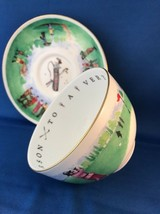 GOLFER Gift ROYAL WORCESTER China Cup Saucer VIP Series - $32.44