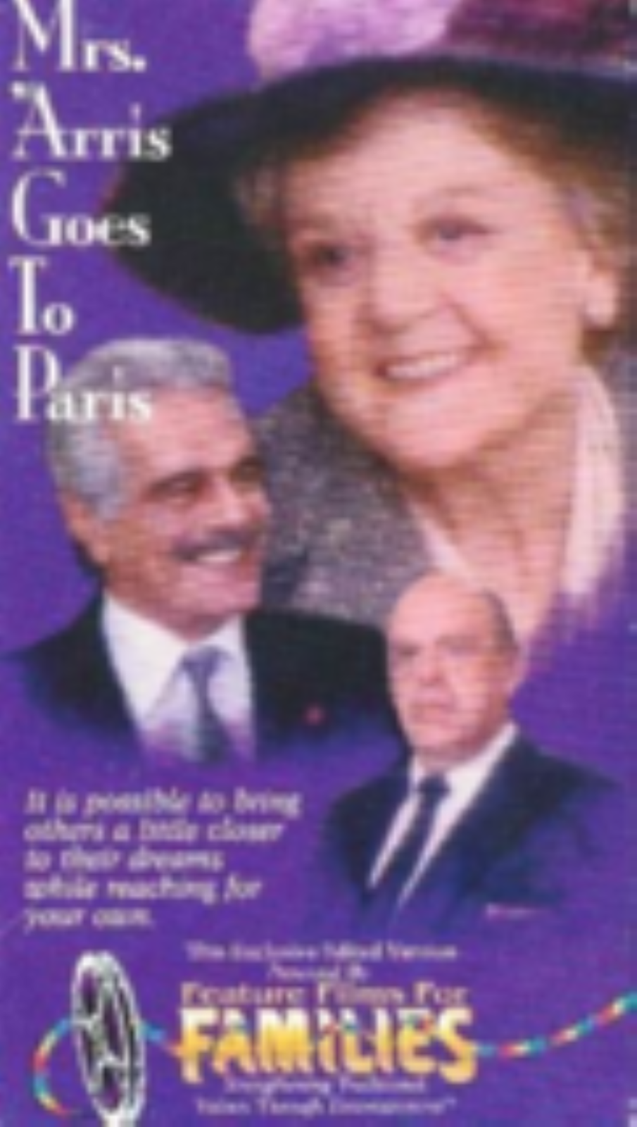 Mrs. 'Arris Goes to Paris Vhs