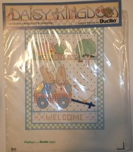 Bucilla Stamped Cross Stitch Sampler~Reach For The Sky~Vintage~NOS~Ships FREE - $4.74