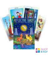 Reflective tarot radiant rider-waite pocket size card deck us games - $52.65