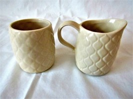 McCoy Vintage Sugar and Creamer,  Made in the U.S.A. - $24.74