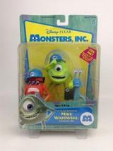 Hasbro 2001 Original Disney Monster Inc Wazowski TALKING Action Figure S... - $39.55
