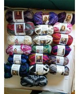 LOT RED HEART BOUTIQUE SHASHAY MAGICAL STARBELLA LUXE & TRUFFLES YARN 19... - $74.25