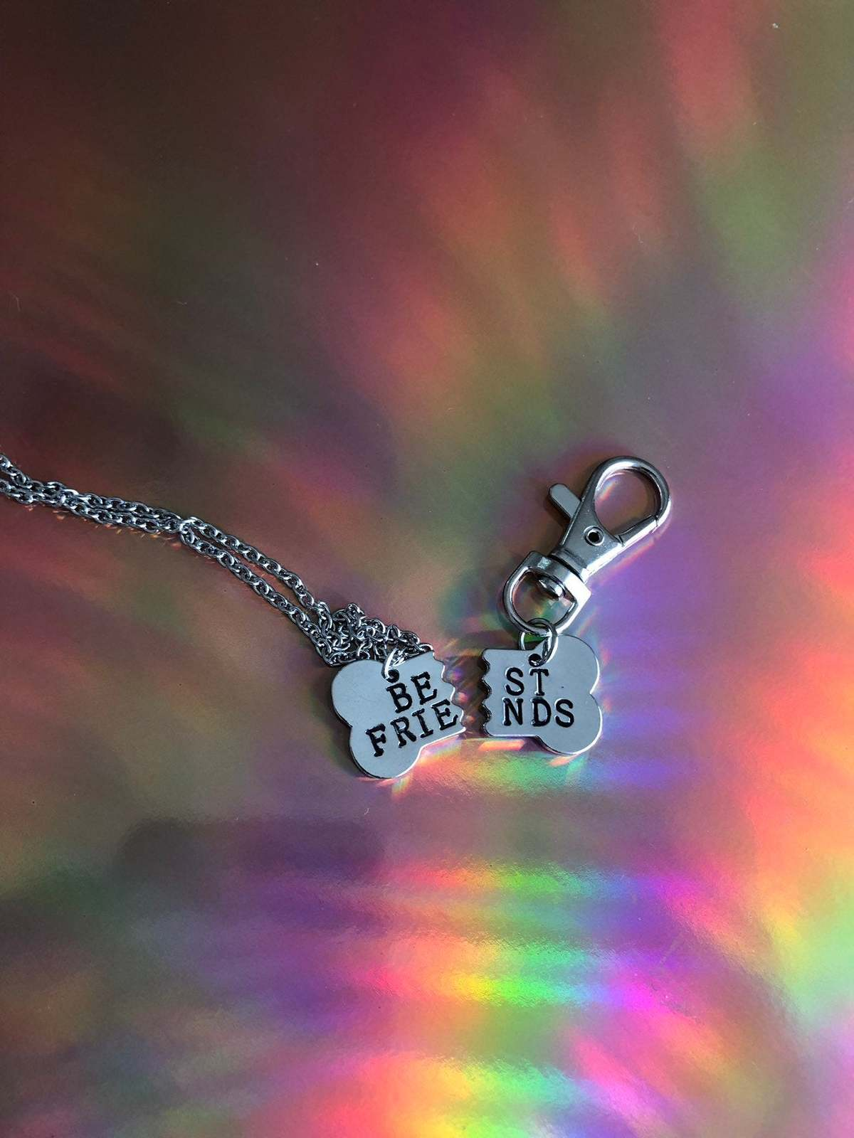 Best friends owner and pet collar charm / pet collar charm / collar accessories  image 6