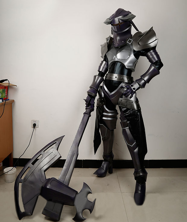 Customize overlord albedo cosplay armor for sale