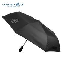 Caribbean Joe Auto Open/Close Stick Collapsible Umbrella with Velcro Clo... - $36.83