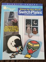 Glow in the Dark Switch Plates Plastic Canvas Leaflet The Needlecraft Shop - $6.83