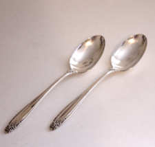 "International Sterling Silver Prelude Pair of Table Spoons 8.5"" - $110.00"
