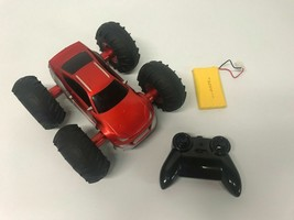 NEW Cyclone Pro All Terrain RC Red Toy Stunt Car w/ Battery & Remote - $26.61