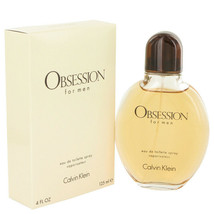 OBSESSION by Calvin Klein 4 oz / 120 ml EDT Spray for Men - $30.68