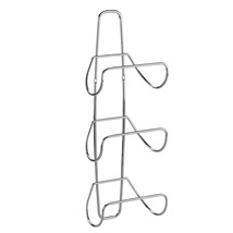 Shelf Towel Rack Holder 3 Tier Hanger Clothes Rolled Towels Steel SPA Ba... - $36.43